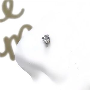 925S Diamond CZ Nose Ring Stud Screw
